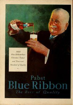 Pabst Blue Ribbon 1933