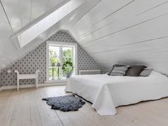 Creative And Inexpensive Useful Tips: Attic Space Dressing attic lighting hallways.Attic Closet Walk Ambrosial Attic Remodel Windows IdeasCreative And Inexpensive Useful Tips: Attic Space Dressin Attic Bedroom Designs, Attic Bedrooms, Attic Design, Bedroom Loft, Bedroom Decor, Bedroom Ideas, Bedroom Rustic, Small Bedrooms, Bedroom Office