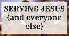 Youth Group Lesson on Serving Teach Jr High Students about Serving Jesus and Everyone Else DOWNLOAD THIS LESSON IN PDF FORM FOR FREE Bible: Ephesians 6:7 Description:Serving others all the time ju…