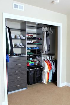 The Perfect Teen Boy Closet Makeover The Tattered Pew Teen Boys Room Decor, Teen Boy Rooms, Boys Bedroom Decor, Room Ideas Bedroom, Teen Game Rooms, Boy Sports Bedroom, Boys Bedroom Paint, Boys Bedroom Furniture, Big Boy Bedrooms