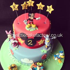 24 Best Mickeymouse Clubhouse Cakes Images Mickey Mouse