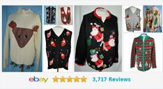 Items for sale by earthfinds Christmas Sweaters, Store, Jackets, Gifts, Shopping, Ebay, Fashion, Down Jackets, Moda