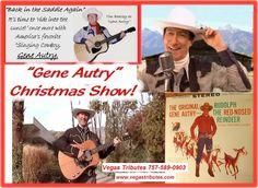 """Tim Beasley as """"Gene Autry,"""" America's Singing Cowboy Superstar!"""