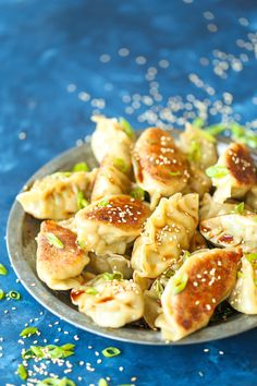 Shrimp Potstickers // @damn_delicious