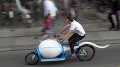 European Sperm Bank Cargo Bike