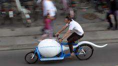 European Sperm Bank Cargo Bike