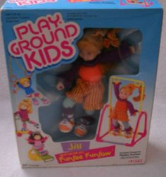 6060 Vintage Ertl Play Ground Kids Jill Her Funsee Funsaw
