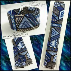 Irresistible Embroidery Patterns, Designs and Ideas. Awe Inspiring Irresistible Embroidery Patterns, Designs and Ideas. Embroidery Bracelets, Bead Loom Bracelets, Beaded Bracelet Patterns, Jewelry Patterns, Bead Patterns, Peyote Stitch Patterns, Weaving Patterns, Seed Bead Jewelry, Beaded Bracelets