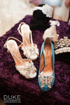 Fabulous @Aruna Seth shoes at The Premier Bridal Event, 2012