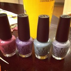 opi <3 these colors