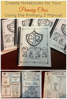 LDS Notebooking: Create Notebooks for Your Primary Class Using the Primary 3…