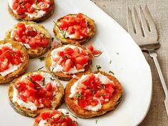Eggplant Ricotta Bites Recipe | Food Network Kitchen | Food Network