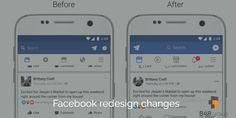 Facebook redesign changes