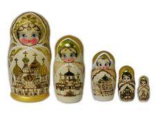 Russia - Matroska doll    Babushka – Matryoshka doll   Warm Photos
