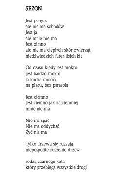 """""""Sezon""""  Rafał Wojaczek"""