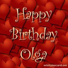 Happy Birthday, Olga!