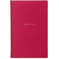 Lambskin Leather Notebook - Oh La La