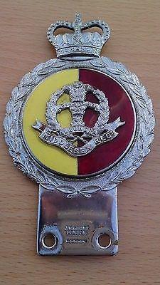 J.R. Guant Genuine Chrome - Enamel Car Grille Badge ( Middlesex Regiment ) (02/16/2014)