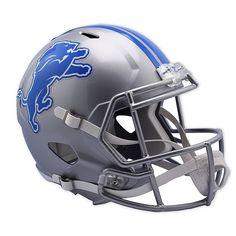 Detroit Lions 2017 Riddell NFL Full Size Authentic Speed Football Helmet for sale online Detroit Lions Helmet, Detroit Lions Football, Cincinnati Bengals, Indianapolis Colts, Football Helmets For Sale, Helmet Design, Nfl Fans, Football Fans, National Football League