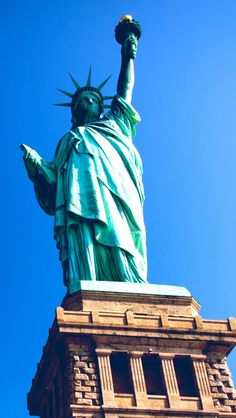 Statue Of Liberty; the day I could go all the way up to the crown and look out over New York, NY