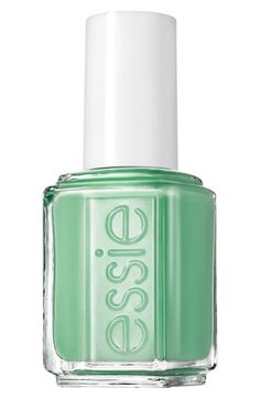 One of my favorite new summer time colors- First Timer- essie® 2013 Resort Collection