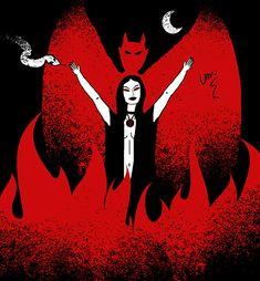 Inspired: The Blood on Satan's Claw by Van Burmann #satan #darkart #evil