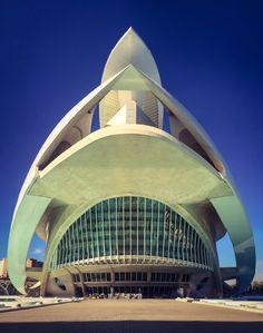 Palacio de las Artes Reina Sofia (Valencia - Spain)