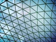 #britishmuseum #london #glassroof #sky