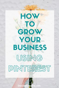 If you want to grow your business, one of the most popular sites right now is Pinterest with millions of users who are looking for new ideas on how to make their lives better. As a social media platform, it's been steadily growing in popularity for the past few years and is now one of the most-used platforms out there! This blog post offers tips and tricks that will help you succeed on Pinterest. Work From Home Business, Growing Your Business, Business Tips, Online Business, How To Start A Blog, How To Make Money, Virtual Assistant Services, Pinterest For Business