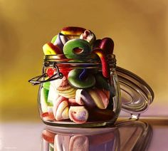 Hyperrealistic Still Life Paintings of Sugary Treats - My Modern Metropolis