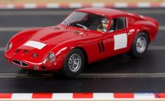 Flyslot Ferrari 250 GTO in classic Ferrari red. This Slot Car has wire wheels, excellent detail in the exhaust tips and other areas. It comes with 3 Ferrari badge decals supplied (due to licensing issues they aren& sold fitted to the car). Real Racing, Slot Cars, Gto, Ferrari, Dreams, Slot Car Tracks