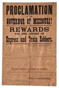 Frank & Jesse James Reward Poster Wild West Outlaws, Western Saloon, Missouri, The Past, Jesse James, Posters, Train, Jessie James, Poster