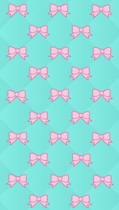 Pink Bows Wallpaper
