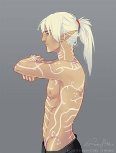Not usually into long-haired Fenris but this is flawless