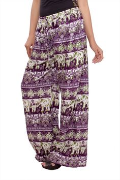 girls palazzo trousers sheer harem pants wide by Theexoticlabel