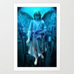angel11 Art Print by Richard J Wise - $17.68