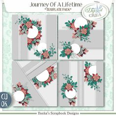 Journey Of A Lifetime by Ilonkas Scrapbook Designs