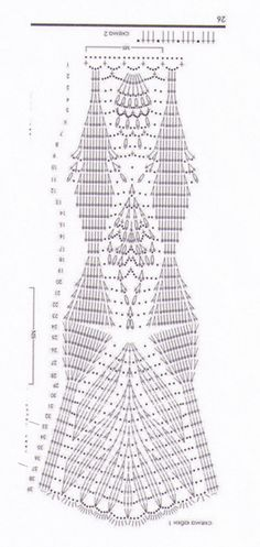 Crochet Skirt Pattern, Crochet Skirts, Crochet Tunic, Crochet Diagram, Crochet Chart, Filet Crochet, Crochet Motif, Crochet Doilies, Crochet Clothes