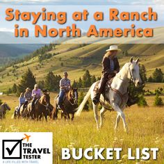 Bucket List Addition: Staying at a Ranch in North America, Montana Rock Creek Ranch