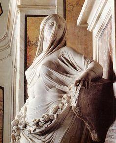 La pudizia antonio corradini modesty    Мodesty. Santa Maria della Piet dei Sangro, Naples, Italy