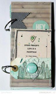 Every person's life is a fairy tale Mini Album - by celine navarro