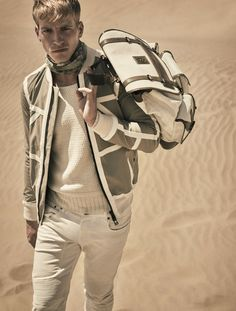 Belstaff 2016 Spring Summer Menswear Look Book 013 450x595 Belstaff Envisions the Chic Desert Explorer for Spring