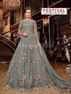 Looking to buy Anarkali online? ✓ Buy the latest designer Anarkali suits at Lashkaraa, with a variety of long Anarkali suits, party wear & Anarkali dresses! Designer Salwar Kameez, Designer Anarkali, Designer Indian Dresses, Lehenga, Anarkali Dress, Anarkali Suits, Long Anarkali, Sarees, Abaya Mode