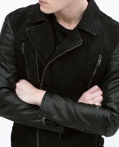 Image 1 of BIKER JACKET from Zara