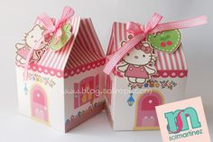 hello Kitty favor box /caja Hello Kitty