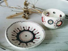 Handmade Clay Decor Candle Bowl & Plate Decorative Clay Pots, Candles, Tableware, Handmade, Home Decor, Clays, Dinnerware, Hand Made, Decoration Home