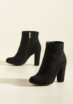 It's All Sleek to Me Bootie, @ModCloth