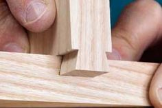The sliding dovetail joint has many woodworking applications, from case construction to leg-and-rail joinery. This joint is strong and versatile.