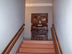 Orb on staircase @ the Grand Hotel Jerome, Arizona 2009