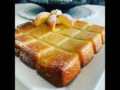 Moelleux aux pommes et mascarpone au Thermomix - YouTube Mousse Mascarpone, Cake Pops, Waffles, French Toast, Muffins, Breakfast, Desserts, Cupcakes, Simple